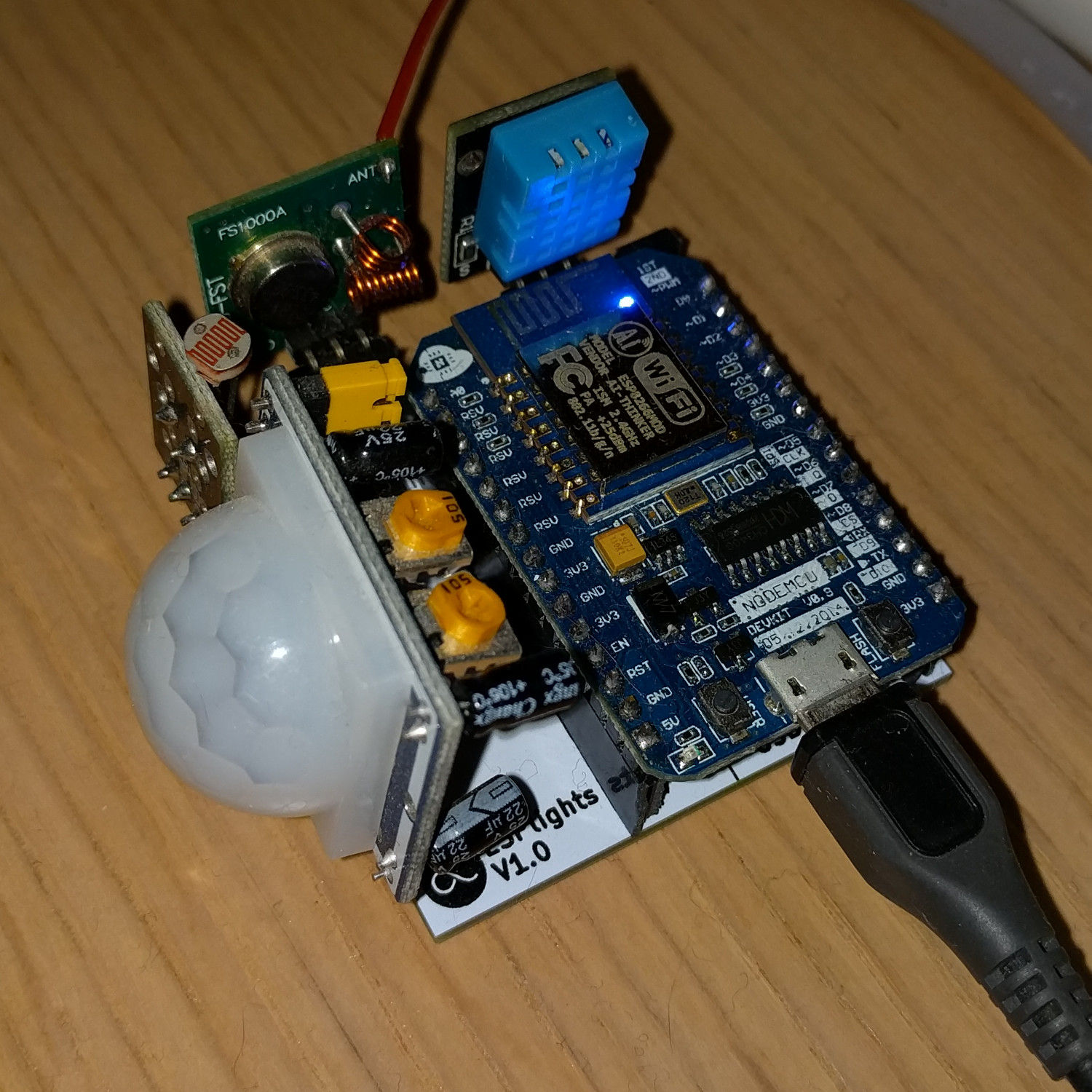 Building A Cheap Home Sensor Controller Stavros Stuff Pir Interfacing With Arduino Automation